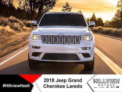 18' Grand Cherokee Laredo