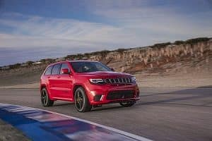 2018 Jeep Grand Cherokee in Redline