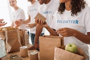 Donating Your Time at a Food Pantry