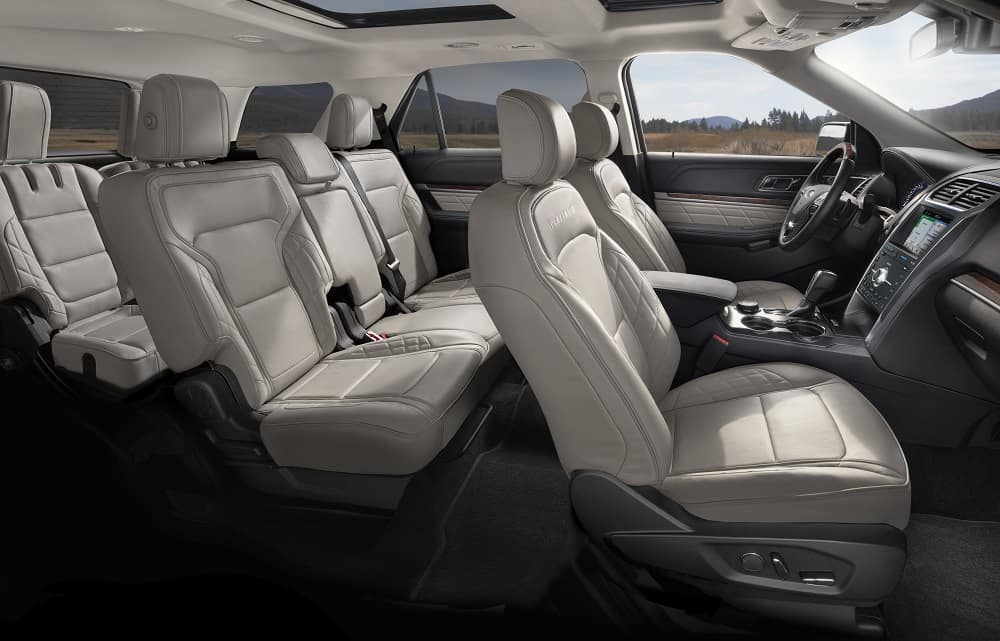 2019 Ford Explorer Leather Interior