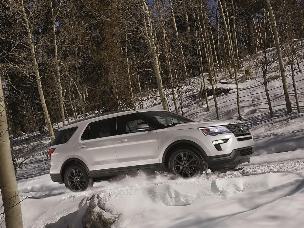 Ford Explorer Impressive Powertrain Design