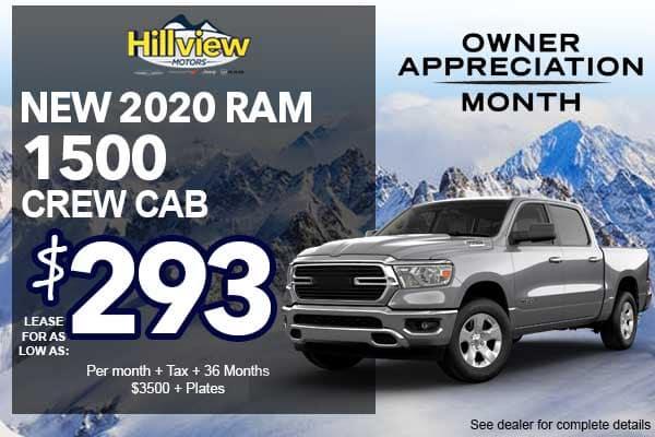 2020 RAM 1500 BIG HORN CREW