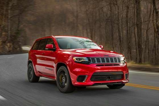 jeep grand cherokee exterior red