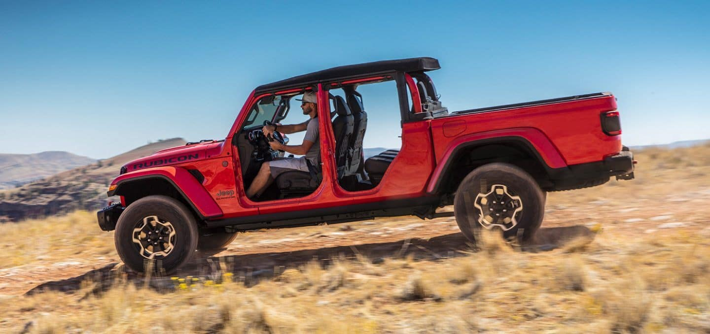 2021 jeep gladiator exterior red