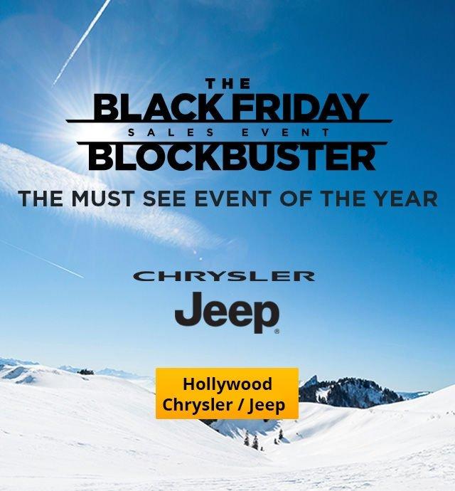 Hollywood Chrysler Jeep Black Friday deal
