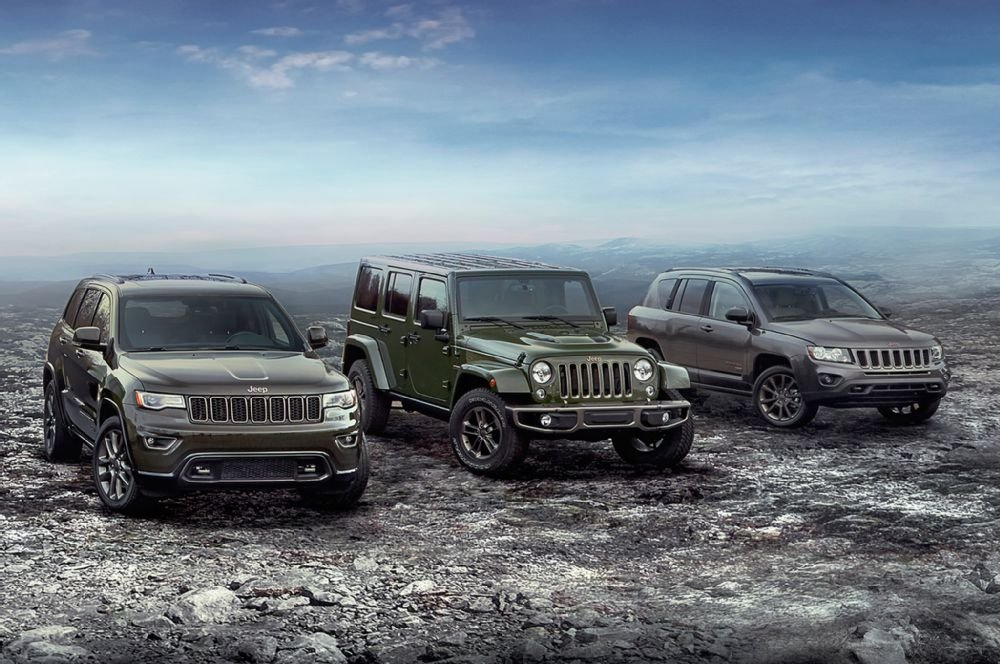 2016 Jeep 7th Anniversary Special-edition