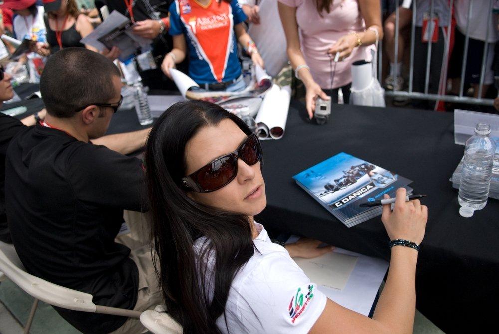 Danika Patrick Indy Race Car Driver