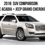 SUV comparison Jeep and GMC Featured