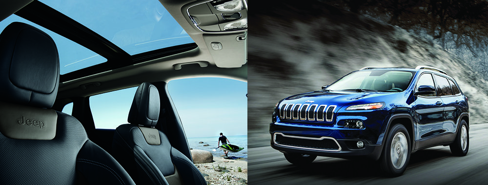 Jeep Cherokee exterio and interior available at Hollywood Chrysler Jeep