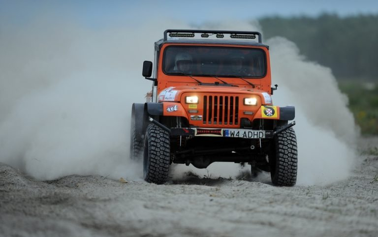 Off-Road Racing and the Jeep Wrangler Rubicon