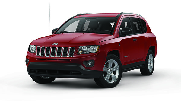2016 Jeep Compass Red