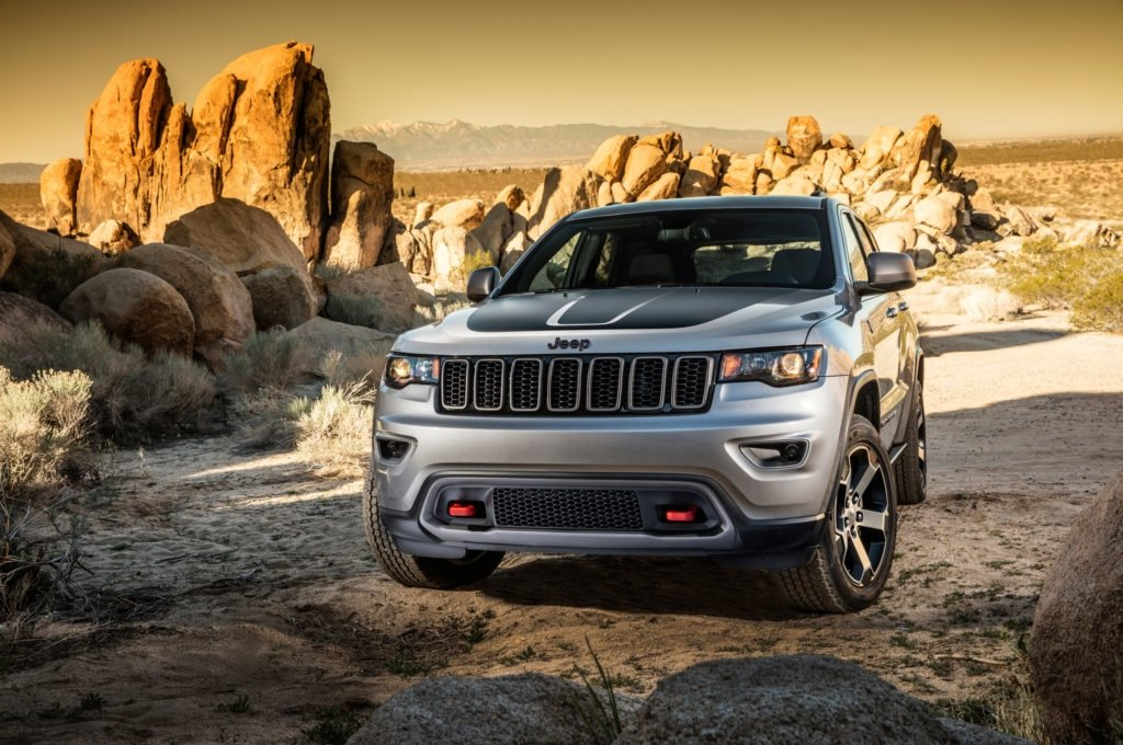 Jeep Grand Cheorkee Trailhawk SUV of the year