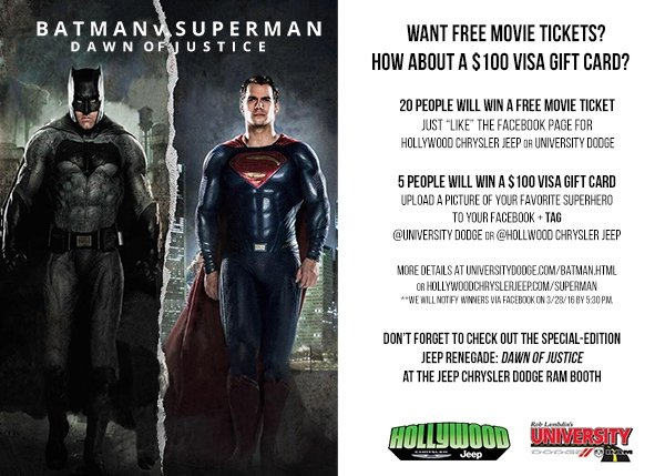 Batman V Superman Promo