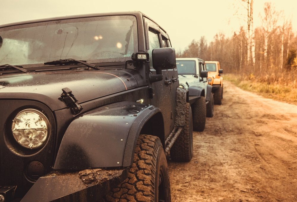 Jeep Jamboree in a new Jeep Wrangler Unlimited