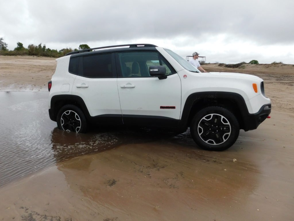 Jeep Renegade at Fort Lauderdale International Auto Show