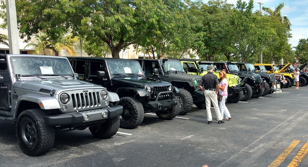 Hollywood Chrysler Jeep attends Morris 4x4 Jeep event