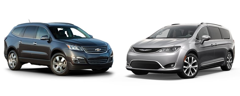 7-Passenger Comparison: Chrysler Pacifica and Chevy Traverse