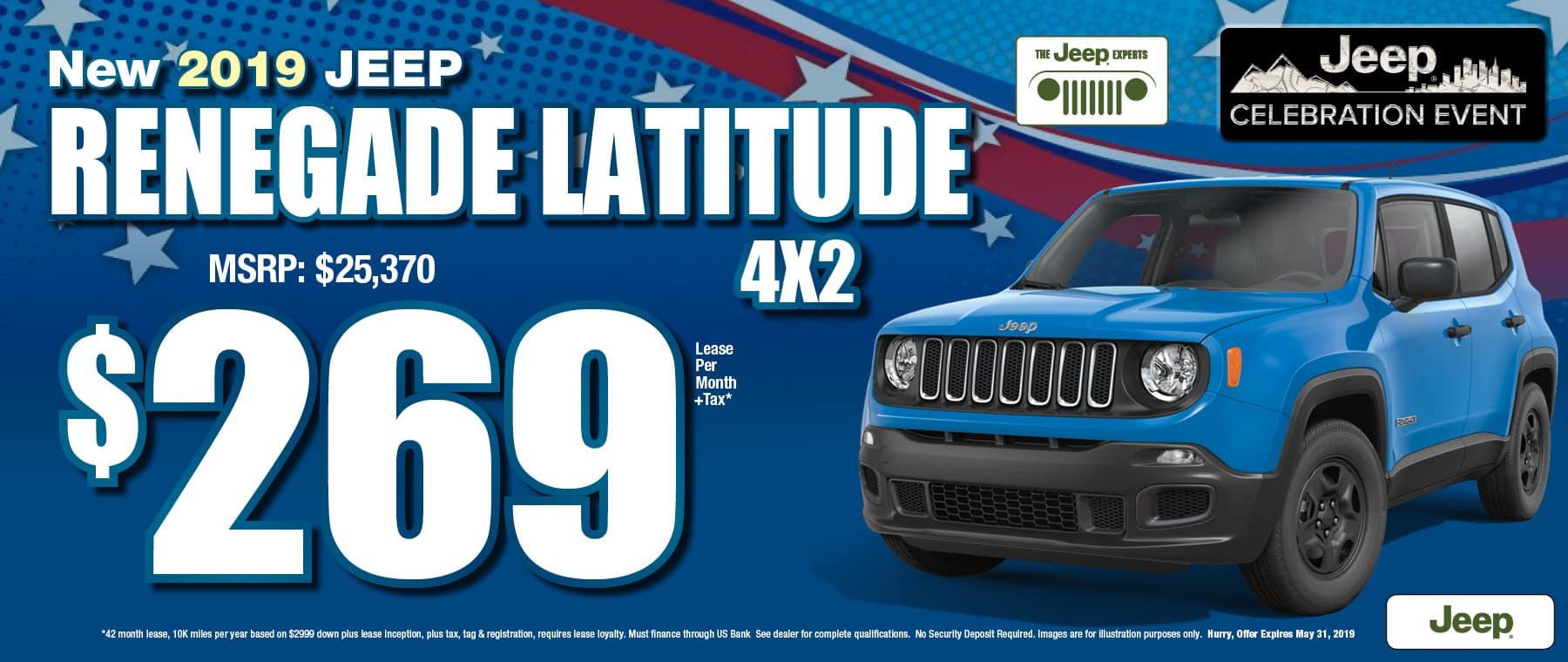 Renegade $269 Lease