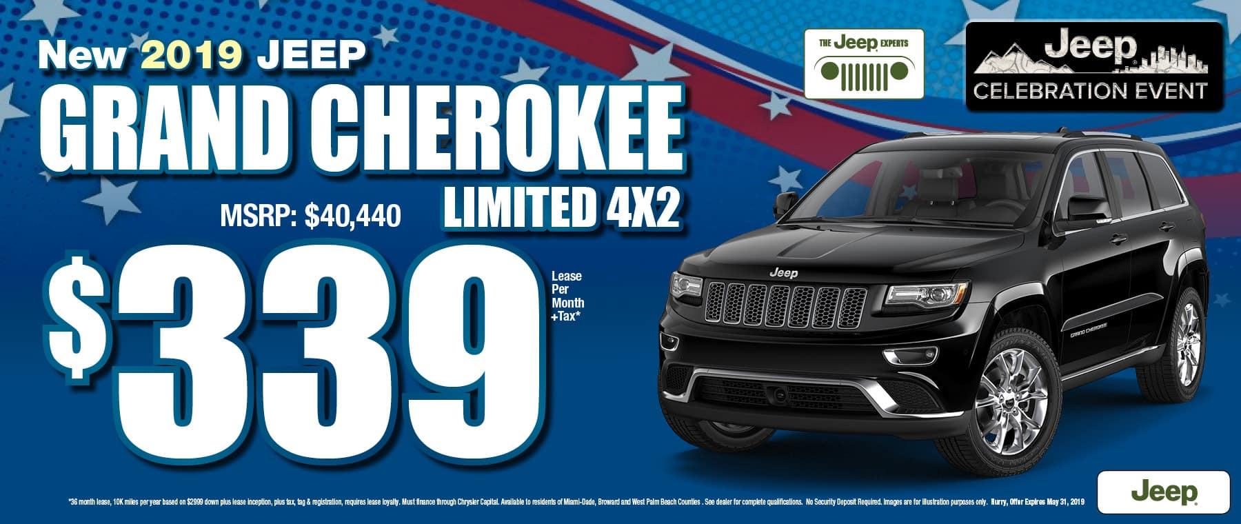Grand Cherokee $339 Lease