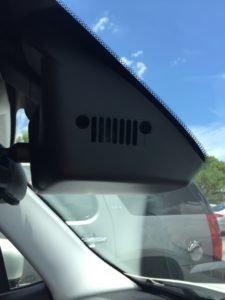 jeep renegade grille hidden