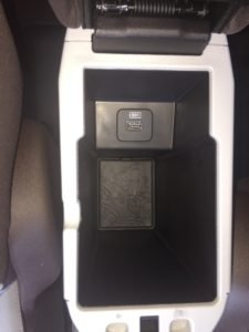 jeep renegade map center console