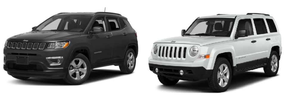 jeep compass vs jeep patriot hollywood chrysler jeep. Black Bedroom Furniture Sets. Home Design Ideas