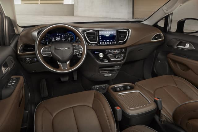 2018 chrysler pacifica hybrid interior hollywood chrysler jeep