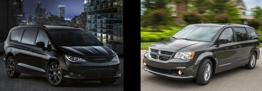 Minivan Comparison 2018 Chrysler Pacifica V Dodge Grand Caravan