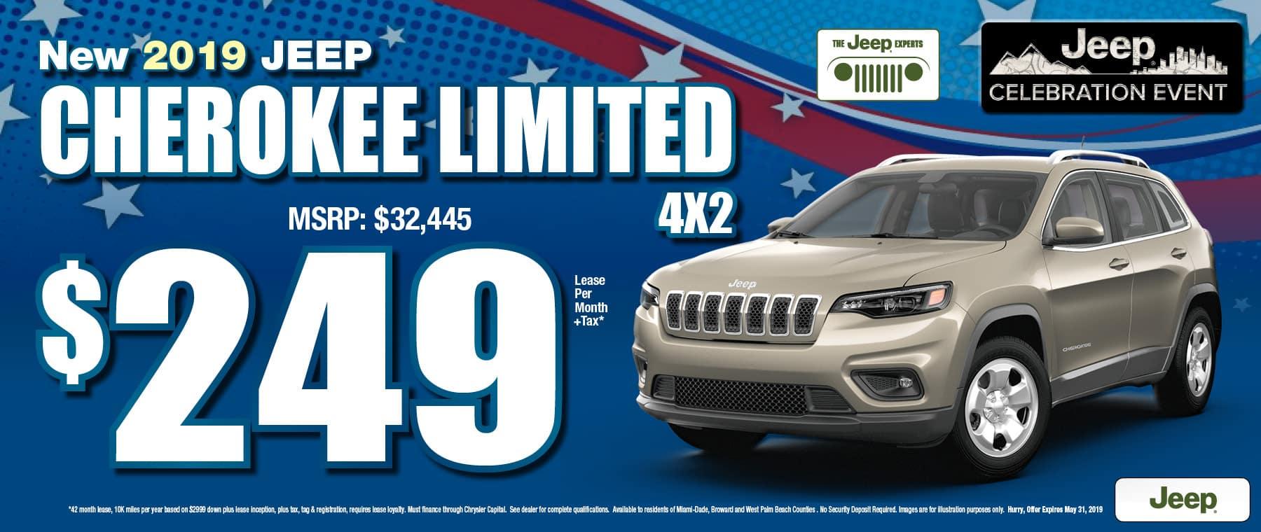 Cherokee $240 Lease