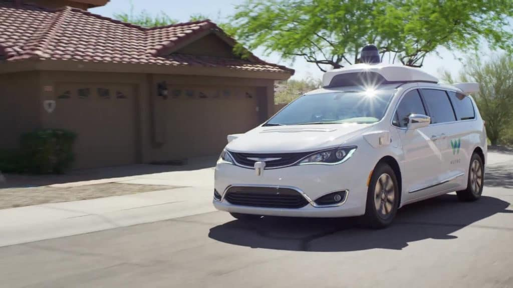 Hollywood Chyrsler Jeep Waymo Pacifica