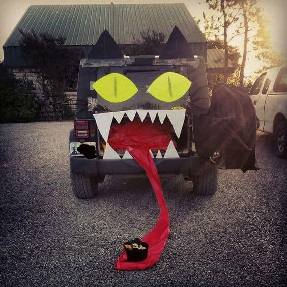 transform your vehicle this halloween for trunk or treat
