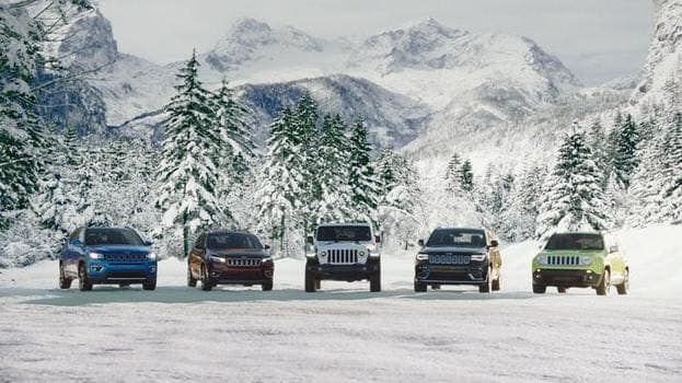 Hollywood Chrysler Jeep Dreaming of a White Christmas Ads