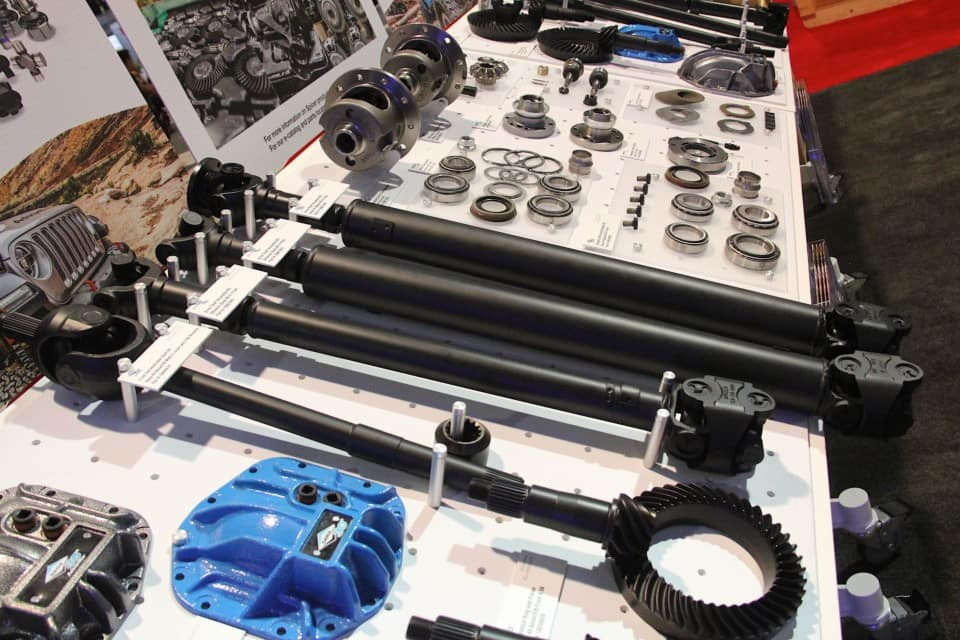 Hollywood Chrysler Jeep Dana Aftermarket Parts Now Available