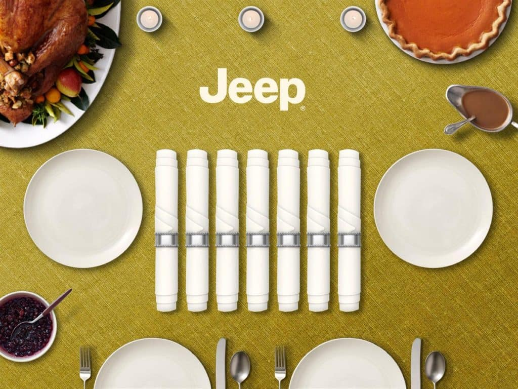 Hollywood Chrysler Jeep Thanksgiving With a Twist