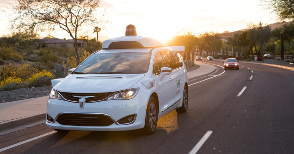 Hollywood Chrysler Jeep Waymo is Ready to Launch Their Service
