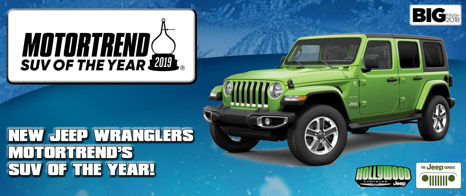 Wrangler Motor Trend SUV of the Year