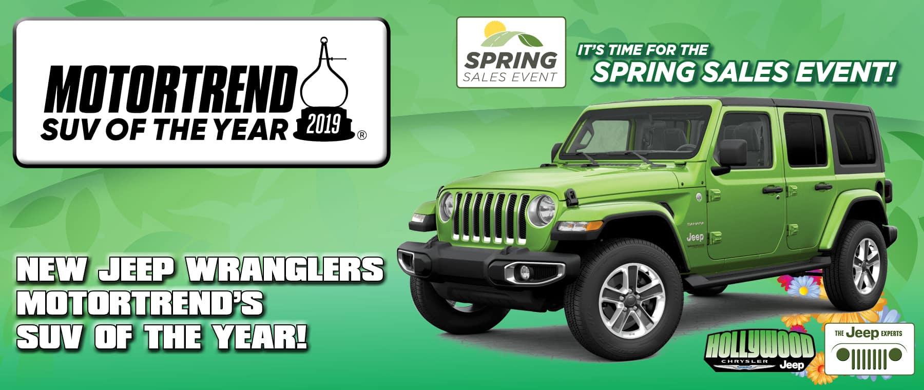 Wrangler Motor Trend SUV of the Year