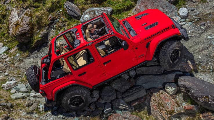 Hollywood Chrysler Jeep Wrangler Off-road