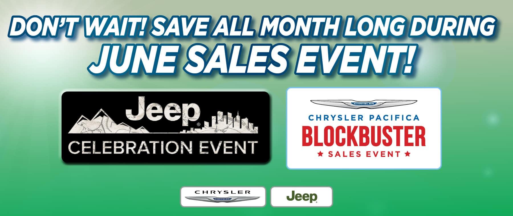 June Sales Event