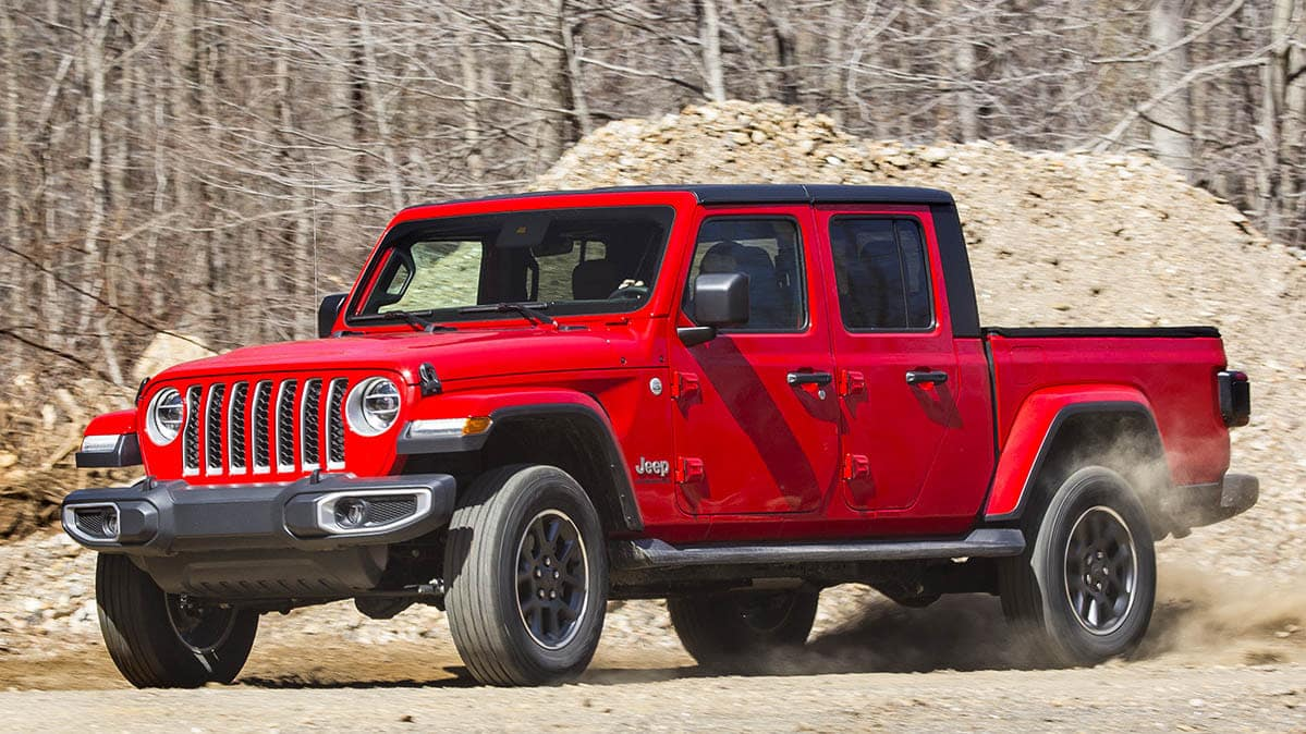 All Of The Awards The 2020 Jeep Gladiator Has Won So Far