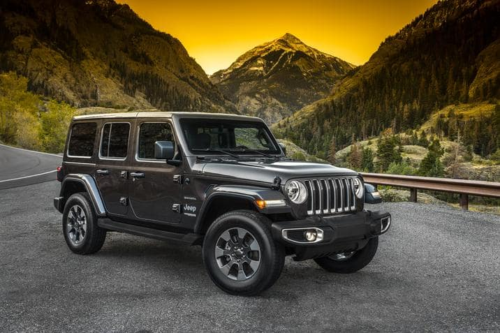 Kelley Blue Book Names The 2019 Wrangler As The Most Awarded
