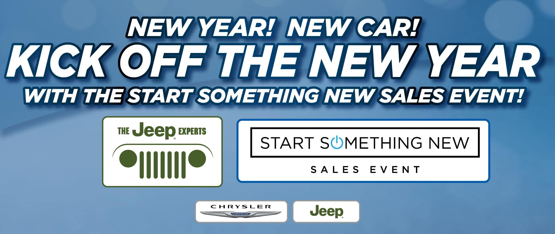 Kick Off the New Year Specials