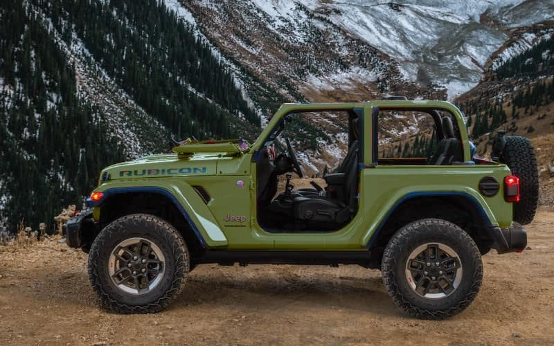 Jeep Shakes Up The Jeep Wrangler Color Options Mid Model Year