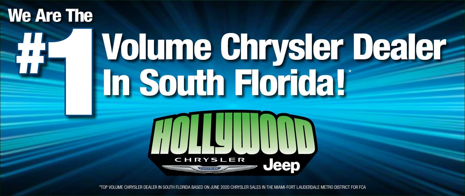 #1 Volume Chrysler Dealer in South Florida.