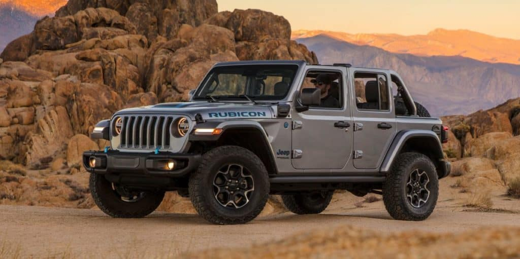 Jeep Wrangler 4xe at Hollywood Chrysler Jeep