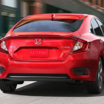 2017 Honda Civic Rear