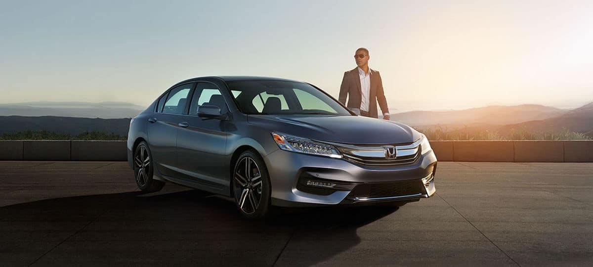 2017 Honda Accord Parked