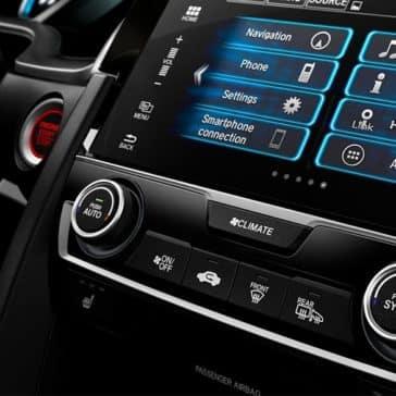 Honda civic touchscreen