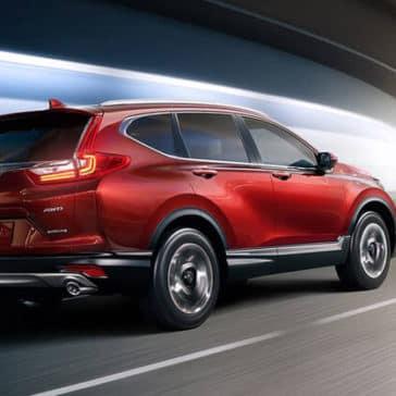 2018 Honda CR-V in red