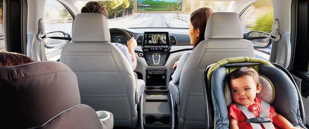Family in Honda Odyssey